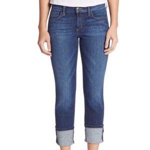 Joe's Jeans Monroe Cuff Crop Jeans [27]